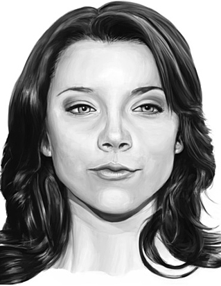 Sketchbook Digital Painting Study of Natalie Dormer